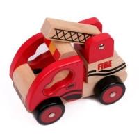 ماشین آتش نشانی چوبی